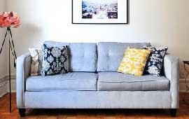 Lavagem de sofá e estofados